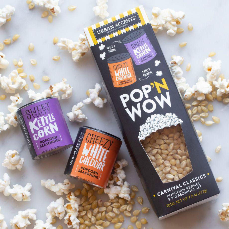 What's Pop'N Gourmet Popcorn Gift Set
