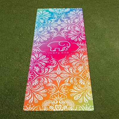 Sublimated Yoga Mat